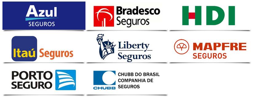 As seguradoras parceiras da Investmaisss oferecem os melhores tipos de seguros.